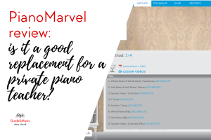 PianoMarvel review: is it a good replacement for a private piano teacher?