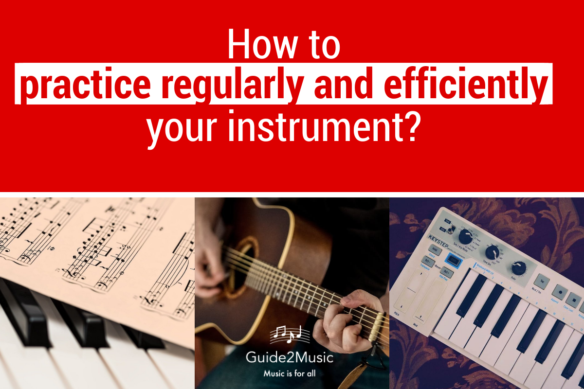 practice regularly and efficiently