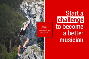 Start a challenge to become a better musician