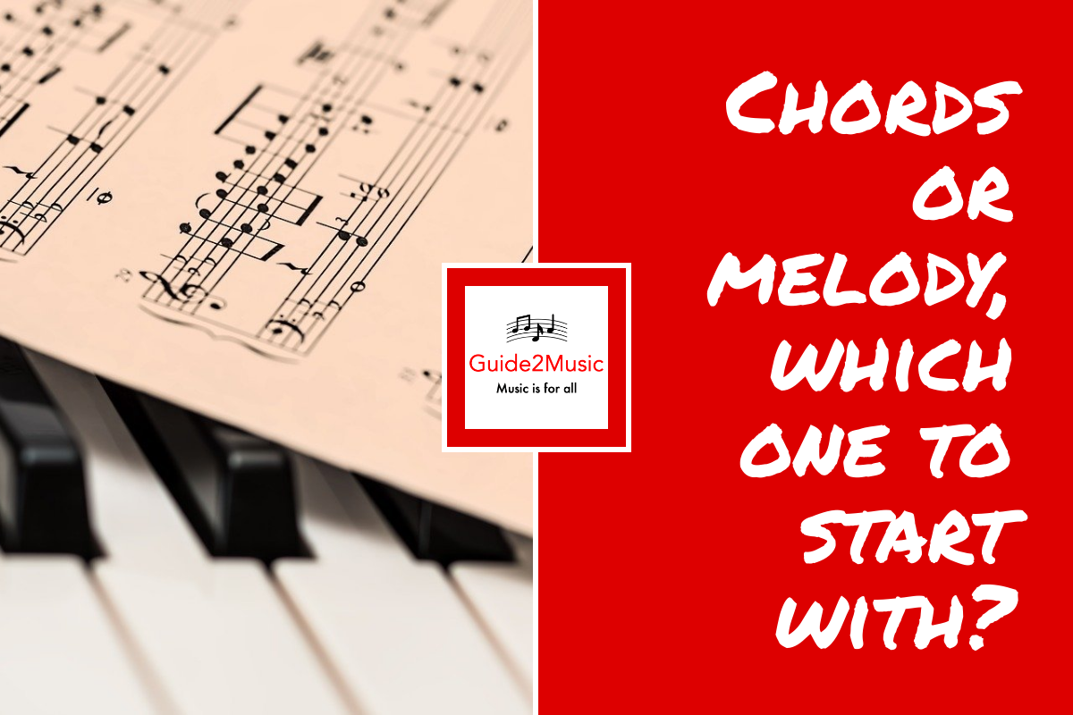 chords or melody