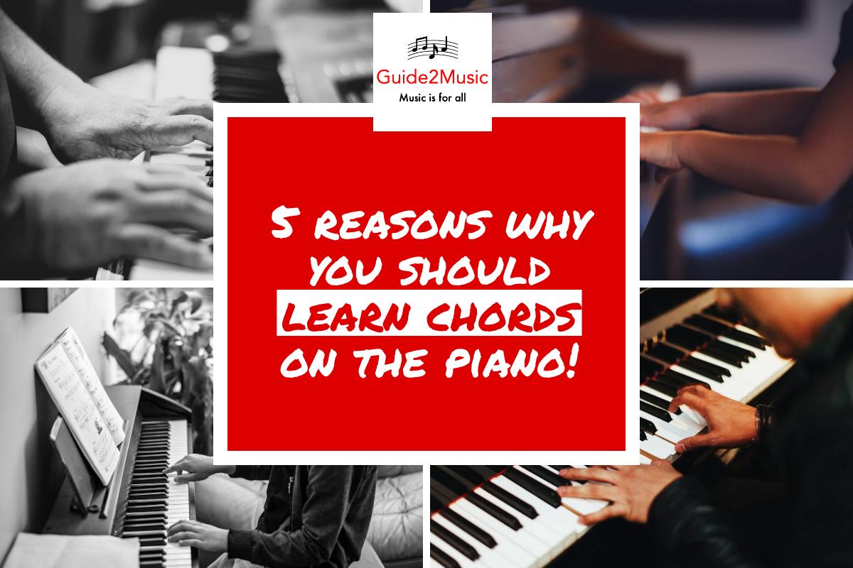 learn chords on the piano